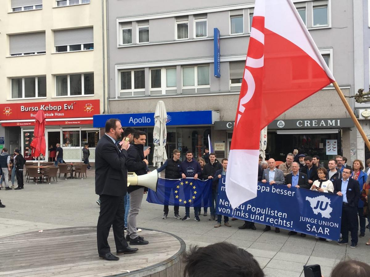 March for Europe - Sarrebruck