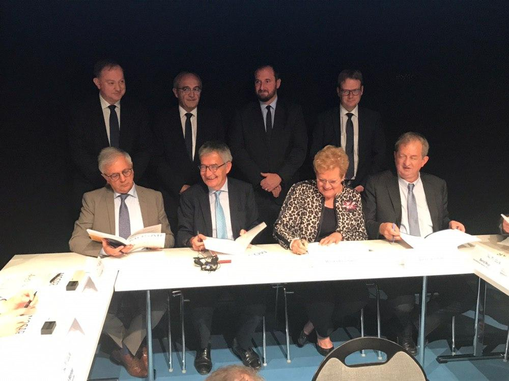 Signature de la convention MOSAR
